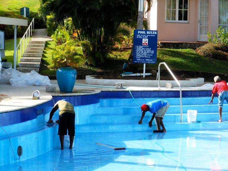 Pool-meintainces