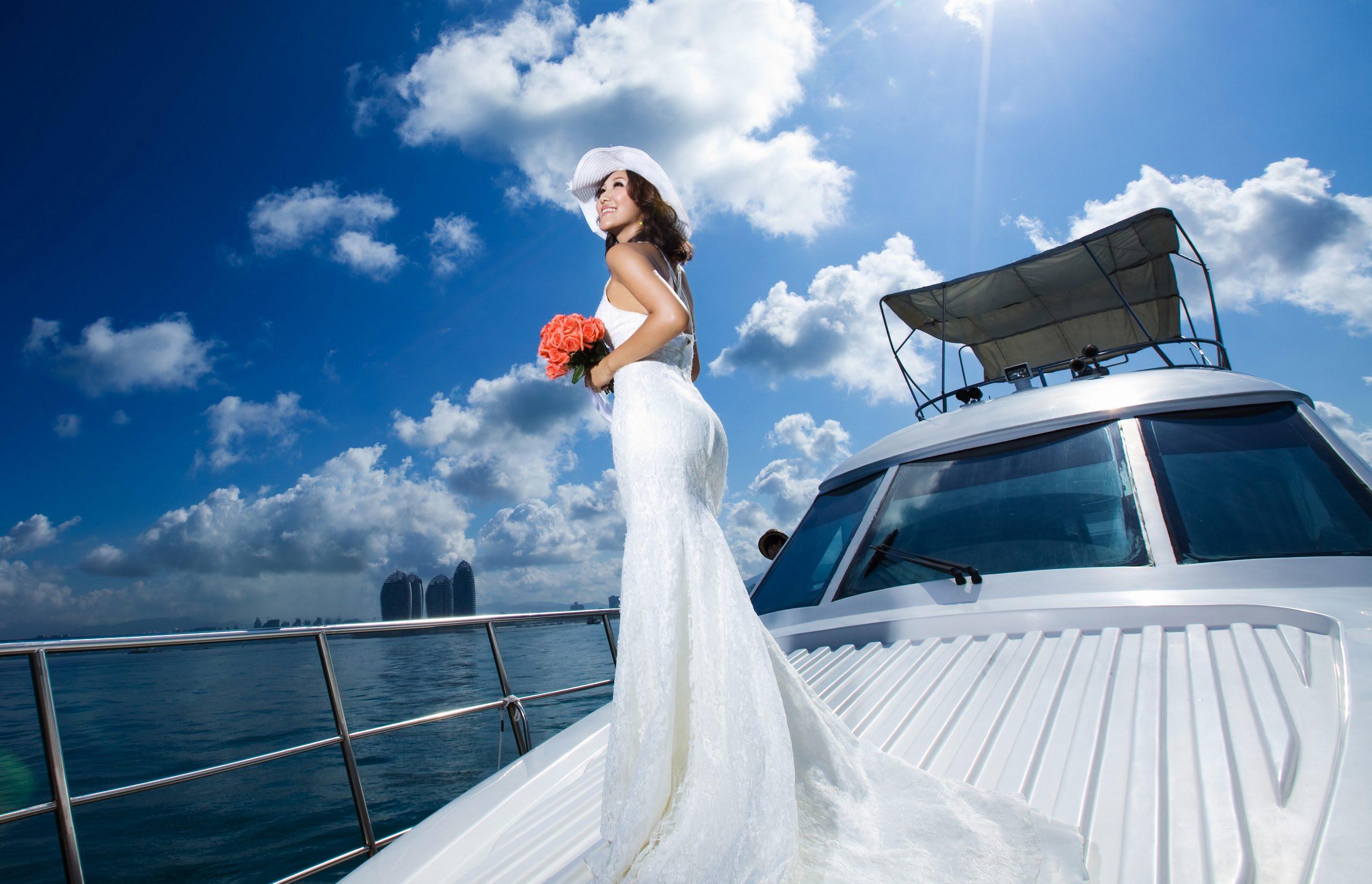 boat lady