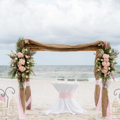 Orange Beach, Beach House Wedding and Reception,